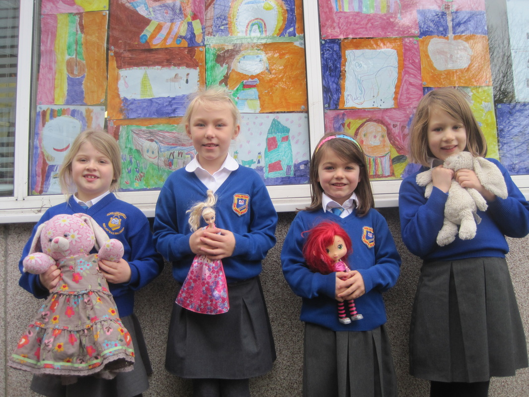 Senior Infants Show And Tell Our Favourite Toys Our Lady S Girls